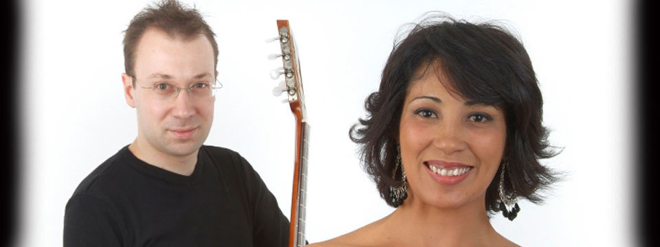 jazz guitar and vocals duo