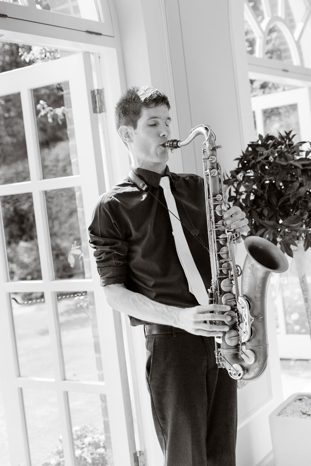 The Kent Saxophone Player - Saxophonist
