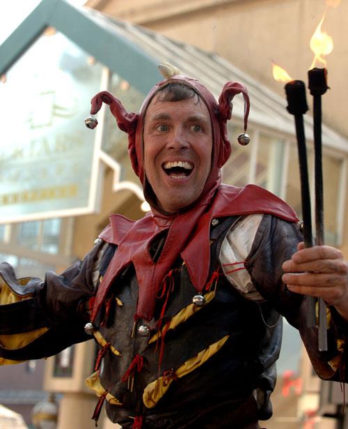 The Medieval Fool - Medieval Jester / Fool