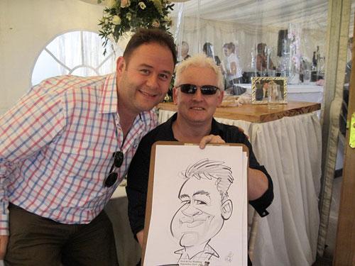 Andrew Colmes - Caricaturist