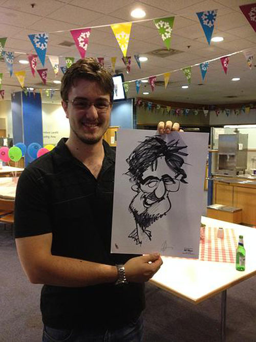 Jerry Blackwood  - Caricaturist & Silhouettist