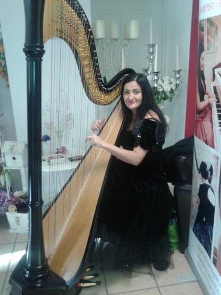 The Londonderry Harpist - Harpist, Singer & Pianist