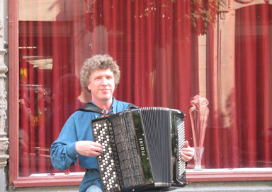 Nick Waterman - Accordionist