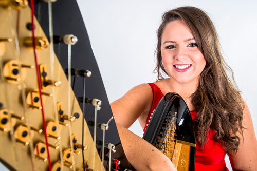 Emily Hughes - Harpist