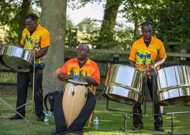 The Steel Drummers - Steel Band
