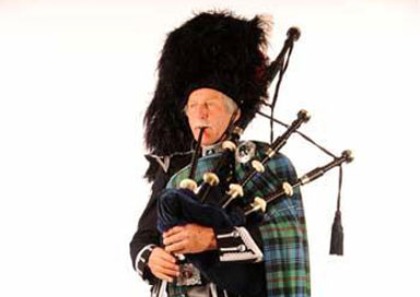 Pete Jacks - Bagpiper