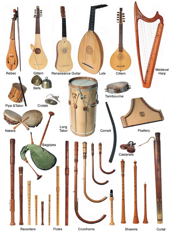 The East Anglia Minstrels - Medieval Minstrels