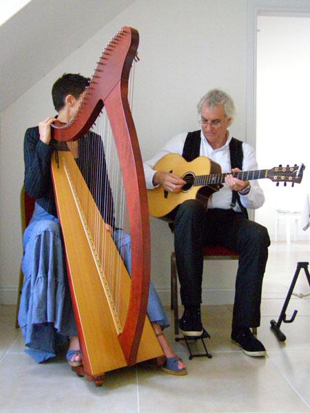 Harp's Desire - Harp & Guitar Duo