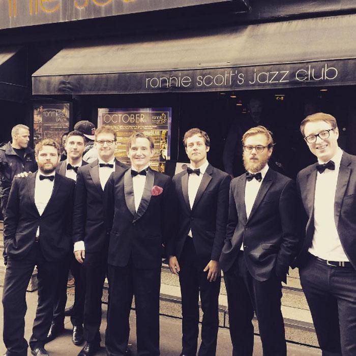 Benoit Viellefon & His Orchestra - 7 Piece Swing Band