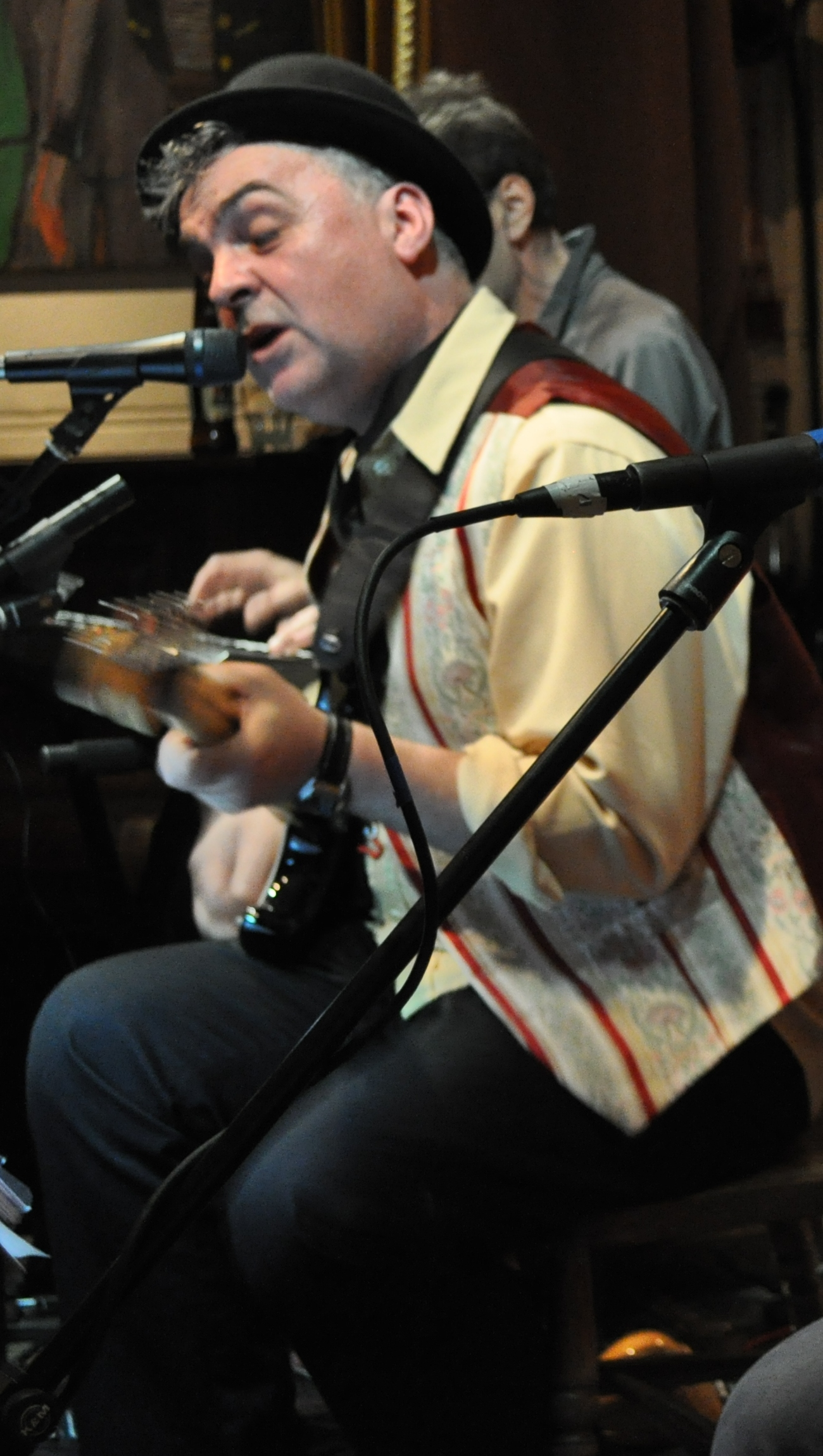 The London Bouzouki Player - Greek Musician