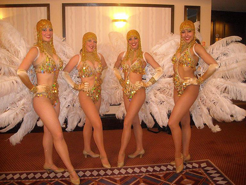 The 1920's Flapper Dancers - 1920's Dancers