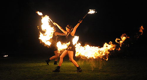 The Big Tops - Fire Performers