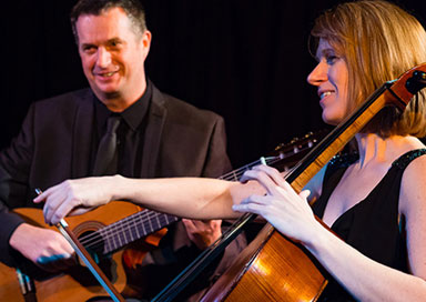 The Suffolk Guitar & Cello Duo - Cello and guitar duo