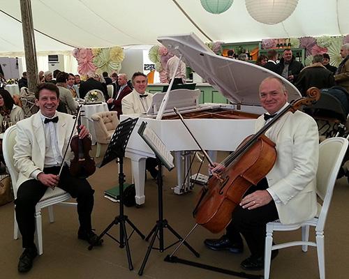 The Hampshire Palm Court Trio - Piano, Cello & Violin Trio