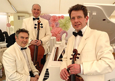 The Hampshire Palm Court Trio - Piano, Cello & Violin Trio