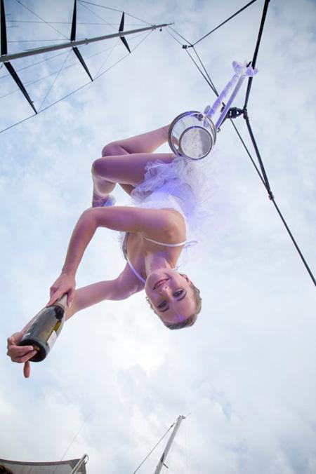 The Aerial Waitress - Aerial Bartender