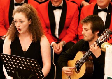 The Oxborough Soprano and Guitar Duo picture