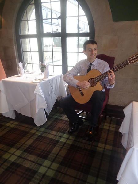The Gloucester Wedding Guitarist - Classical Guitarist