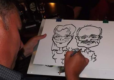 The Sussex Caricaturist - Cartoon Caricaturist