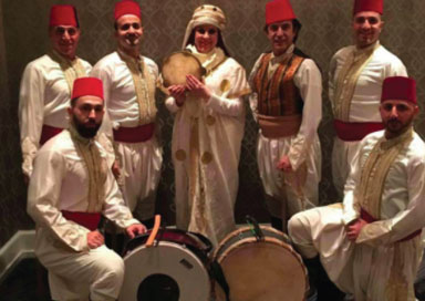 The Arabic Zaffa Dancers - Arabic Dancers