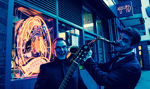 The London Bossa Duo - Guitar & Sax Duo