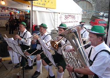 The Cornwall Oompah Band - German Oompah Band