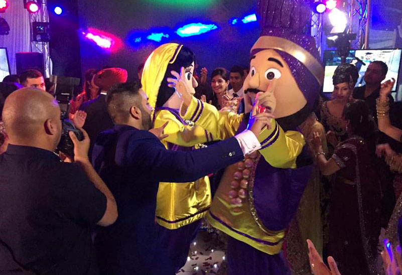 The Bhangra Mascots - Comedy Dance Act