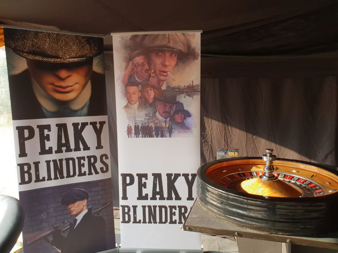 The Peaky Blinders Themed Party Co - Peaky Blinders Themed Dancers & Props