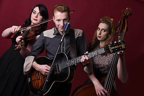 Smokin' Hot Western Swing Trio - Western Swing Trio