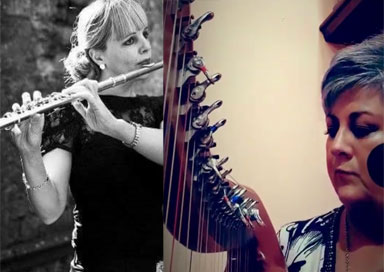 The Tipperary Wedding Duo - Harp, Vocal & Flute/Low Whistle Duo