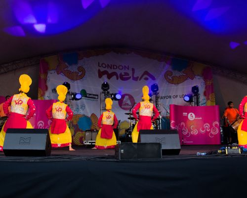 The London Bhangra Dancers - Bhangra Dancers