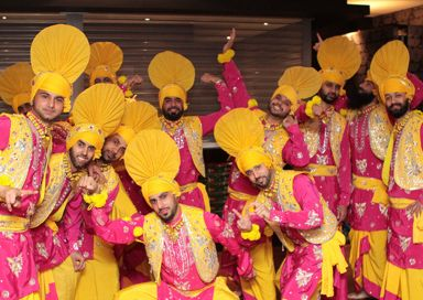 The London Bhangra Dancers picture