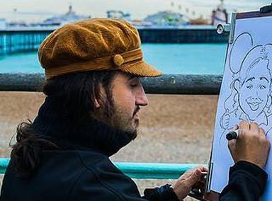 The Brighton Caricaturist picture