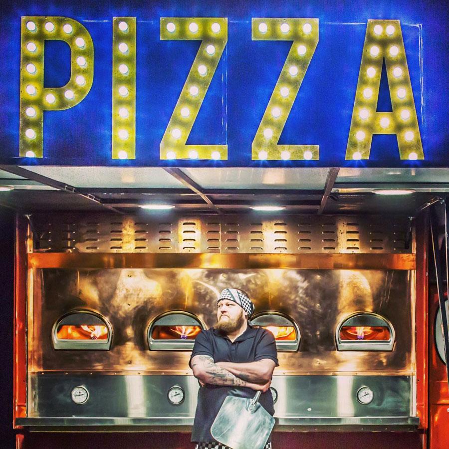 The Mobile Pizza Van - Pizza Van
