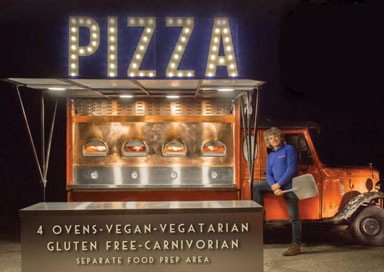 The Mobile Pizza Van - Pizza Van