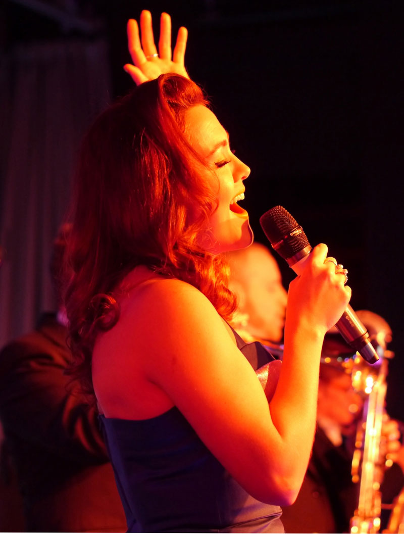 The Portsmouth Jazz Singer - Jazz Swing Singer