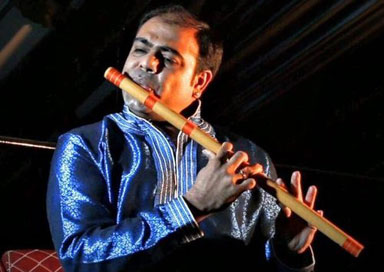 The Indian Flute Player - Bansuri Player