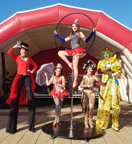 The Circus Dancers and Performers - Greatest Showman Themed Entertainment