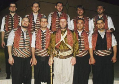 The Palestinian Dabke Group - Palestinian Dabke
