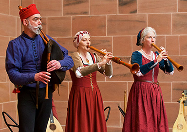 The Scottish Medieval Musicians picture