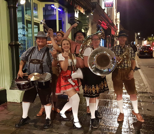 The North Wales Oompah Band - Oompah Band