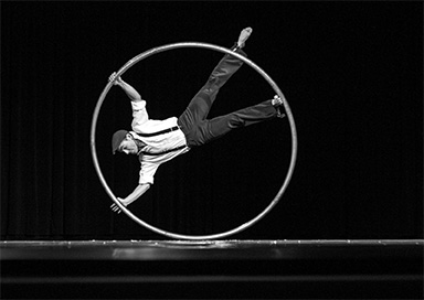 Cyr Wheel Solo - Cyr Wheel Circus Act