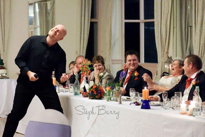 The South Wales Singing Waiter - Singing Waiter & DJ