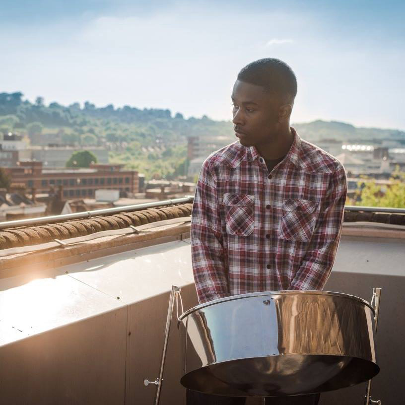The Solo Steel Pan Player - The Solo Steel Pan Player