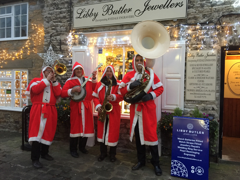 The Jazz Santas - Christmas Jazz Band