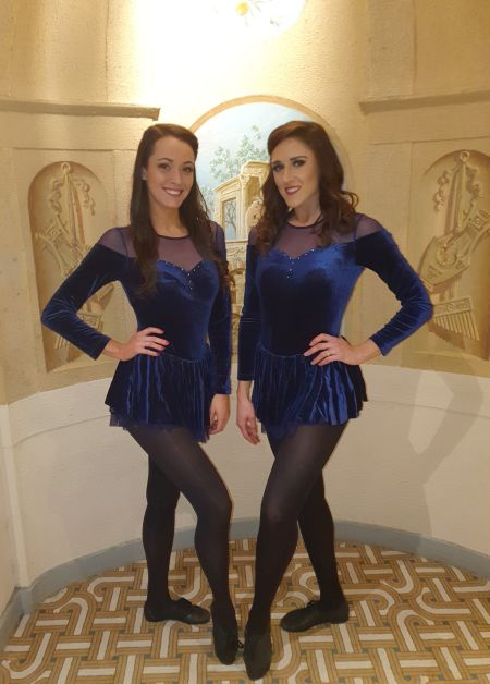 Irish Dance Duet - Irish dancers
