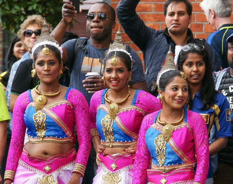 The Sri Lankan Dancers - Kandyan Dancers