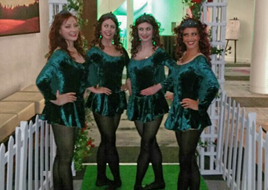 The Irish Dancers picture