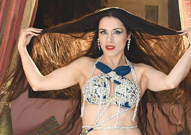 The Surrey Belly Dancer - Belly Dancer and Snake Charmer