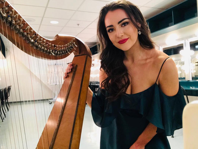The Co Mayo Wedding Musicians - Harp, Violin and Vocal Trio